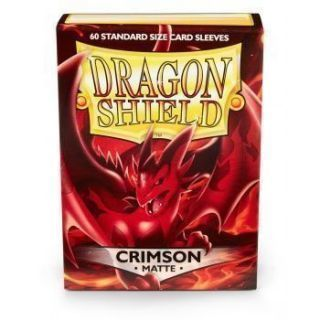 FUNDA MATE DRAGON SHIELD CRIMSON (60)