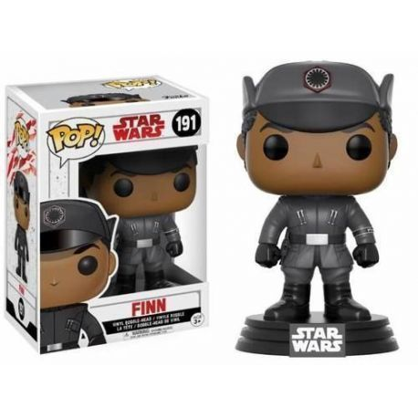 FIGURA POP STAR WARS EPISODIO VIII FINN