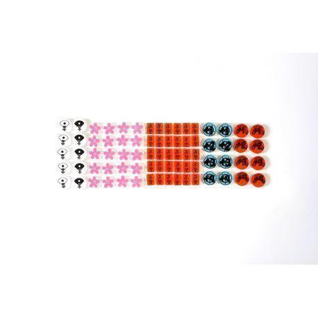 5 Rings Tokens Deluxe Pack