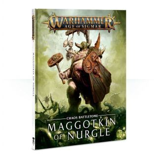 Battletome: Maggotkin of Nurgle (Inglés)