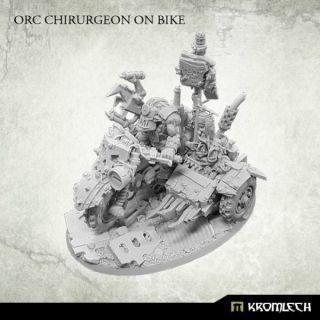 ORC CHIRURGEON ON BIKE