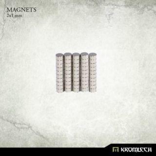 NEODYMIUM DISC MAGNETS 2X1MM