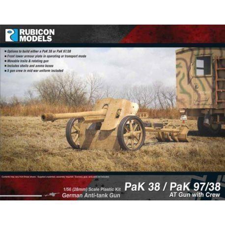Pak38/Pak 97/38 Anti-tank Gun with Crew