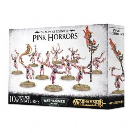 PINK HORRORS TZEENTCH