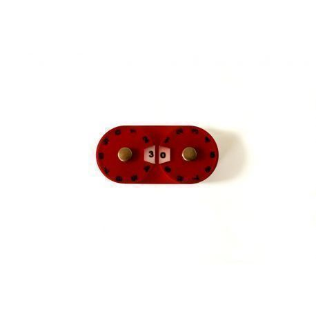 Double Dial - Red