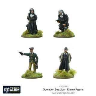 Operation Sea Lion Enemy Agents