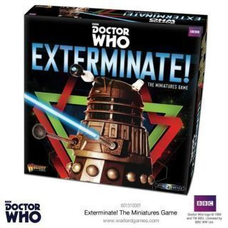 Exterminate! Dr Who Miniatures Games