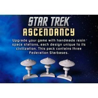 Star Trek: Ascendancy Federation Starbases