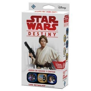 STAR WARS DESTINY. CAJA DE INICIO: LUKE SKYWALKER