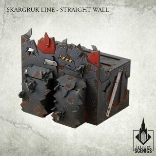 SKARGRUK LINE- STRAIGHT WALL