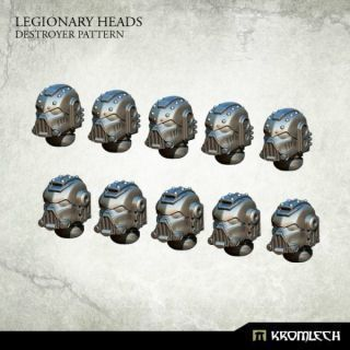 LEGIONARY HEADS: DESTROYER PATTERN (10)