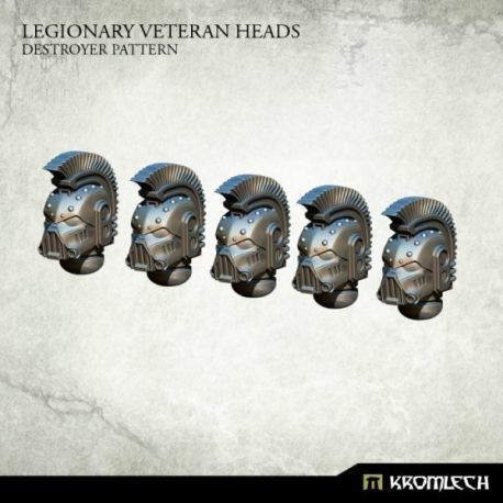 LEGIONARY VETERAN HEADS: PATTERN (5)
