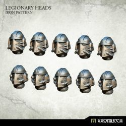 LEGIONARY HEADS: IRON PATTERN (10)