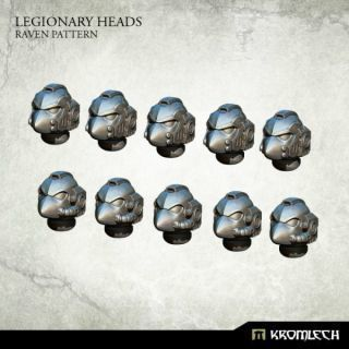 LEGIONARY HEADS: RAVEN PATTERN (10)