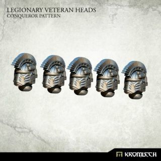 LEGIONARY VETERAN HEADS: CONQUEROR PATTERN (5)