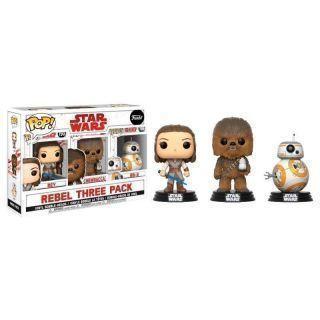 Star Wars: Pop! 3 Set Good Guys