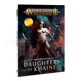 BATTLETOME: DAUGHTERS OF KHAINE (SB) ESP