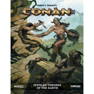 CONAN - JEWELED THRONES OF THE EARTH ADVENTURES