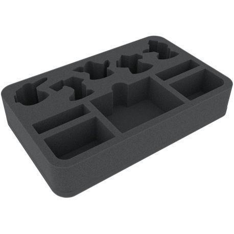40 mm foam tray for Warhammer Shadespire: Khorne Bloodbound