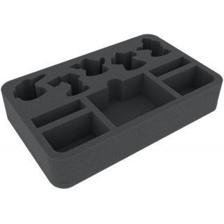 40 mm foam tray for Warhammer Shadespire: Khorne Bloodbound