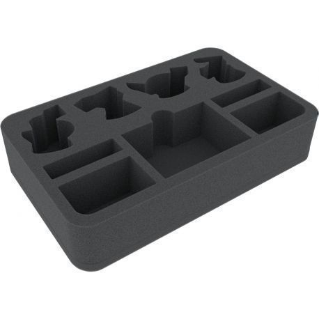 45 mm foam tray for Warhammer Shadespire: Warband Ironskull's Boyz