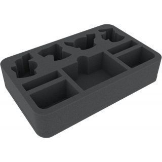 45 mm foam tray for Warhammer Shadespire: Warband Ironskull's Boyz