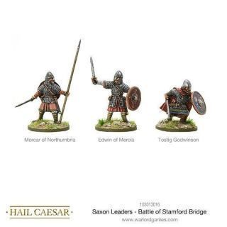 SAXON LEADERS BATTLE OF STAMFORD