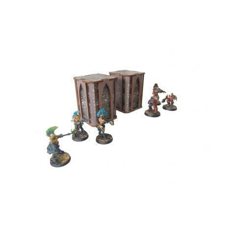 Underworld Pillar x2