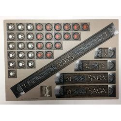 SAGA Cardboard Measuring Sticks & Tokens Set