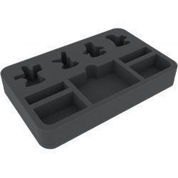 HSMEBC040BO 40 mm foam tray for Warhammer Underworlds Shadespire: The Chosen Axes