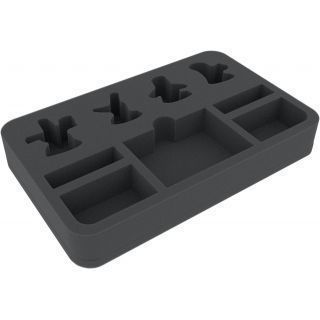 HSMEBC040BO 40 mm foam tray for Warhammer Underworlds Shadespire: The Chosen Axes