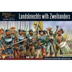 Plastic Landsknechts with Zweihanders
