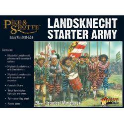 Plastic Landsknechts starter army