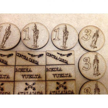 tokens napoleonicos