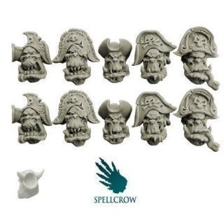 Orcs Freebooters Heads (ver. 1)