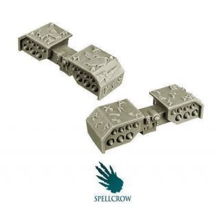 Wolves Knights Blizzard Missile Launchers
