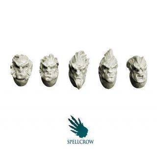 Wolves Knights Feral Heads