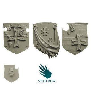 Templar Knights Heavy Large Shields (ver. 1)