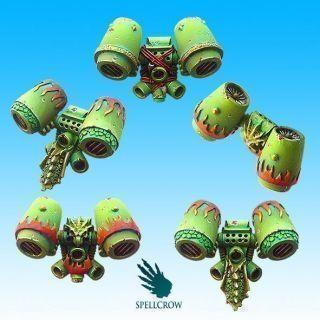 Salamandra Knights Jump Packs