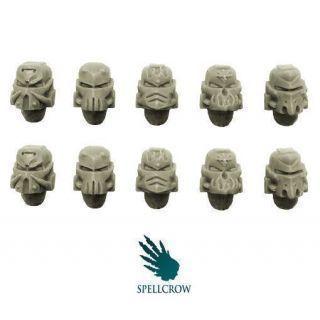 Salamandra Knights Helmets (Forge Pattern)