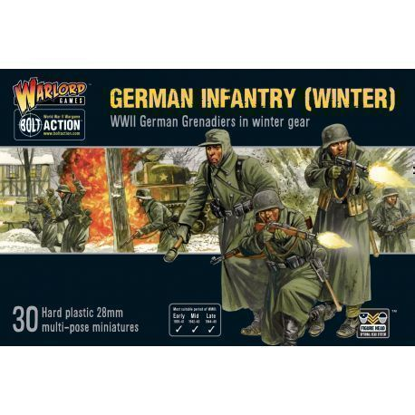 GERMAN INFANTRY (WINTER)