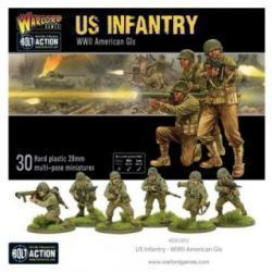 US INFANTRY WW2 AMERICAN Gis