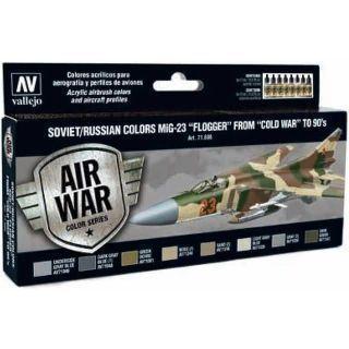 MODEL AIR SET: SOVIET/RUSSIAN AF MIG-23 FLOGGER