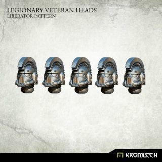 LEGIONARY VETERAN HEADS:LIBERATOR PATTERN (5)