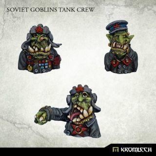 SOVIET GOBLINS TANK CREW (3)