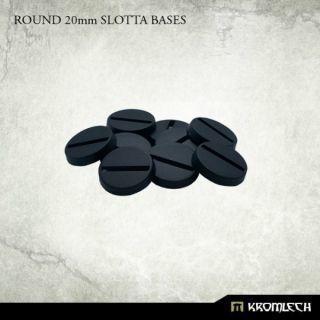 ROUND 20MM SLOTTA BASES (10)