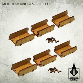 MODULAR BRIDGES:RIFFLED