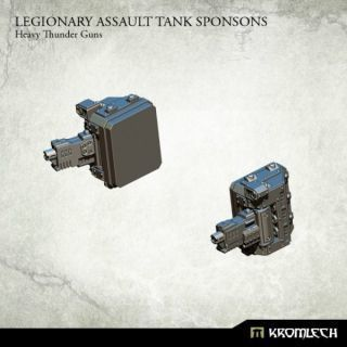 LEGIONARY ASSAULT TANK SPONSONS: HEAVY THUNDER GUNS (1)