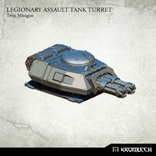 LEGIONARY ASSAULT TANK TURRET:TWIN MINIGUN (1)