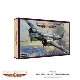 Bristol Blenheim Mk IV British Bomber